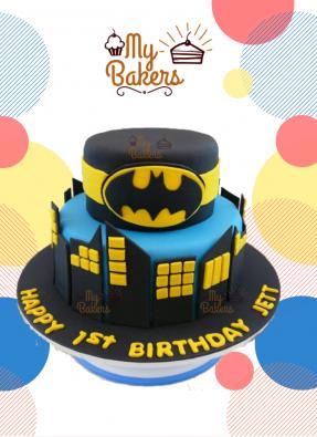 Exclusive Batman Theme Cake