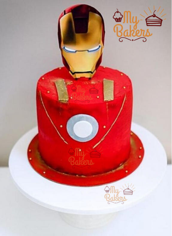 Exclusive Super Hero Theme Cake