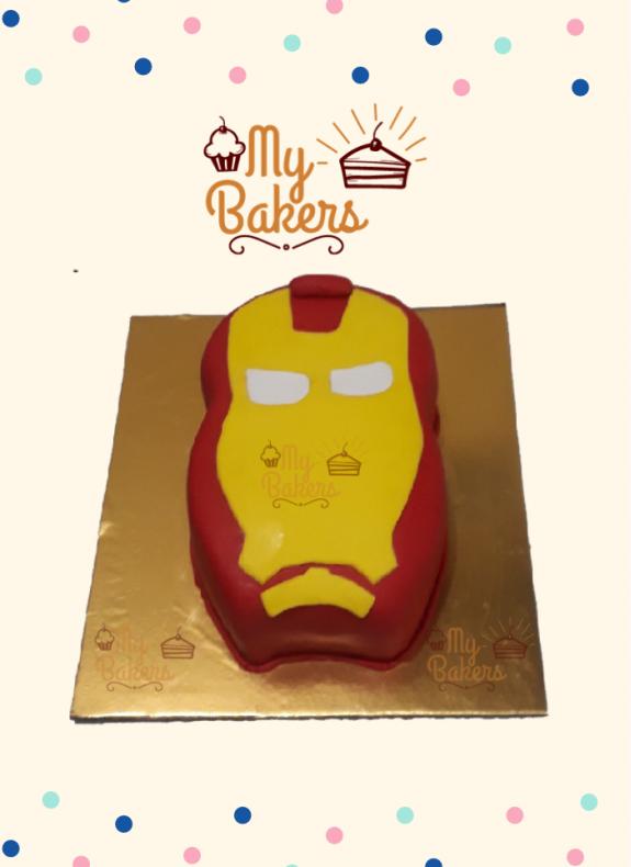 Yummy Super Hero Theme Cake