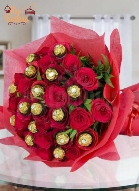 The Perfect Couple Chocolate Bouquet