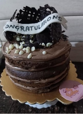 Naked Congratulation Cake
