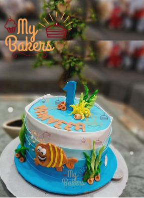 Exclusive Finding Nemo Theme Cake